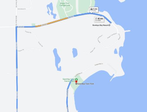 New way to access Sand Bay Beach
